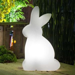Lampe décorative solaire LED Shining Rabbit 50 cm