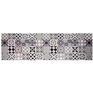 Tapis en vinyle motifs carreaux de ciment 60x199