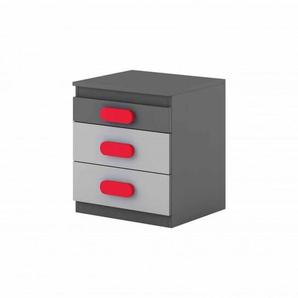 Caisson bureau personnalisable Play - Rouge