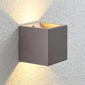 LED Applique Murale en béton Cataleya pour salon & salle à manger - LAMPENWELT
