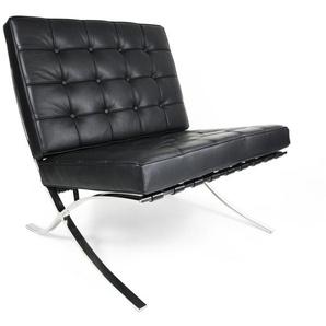 Chaise Barcelona - Noir
