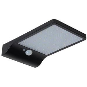 BASIC-Applique dextérieur LED solaire L19cm Noir Lucide