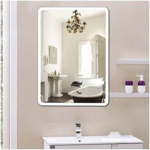 WYCTIN®Design Miroir de salle de bains avec LED éclairage 70x50cm