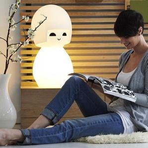 KOKESHI-Lampe à poser LED poupée H63cm Blanc Mr Maria