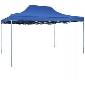 Tente pliable 3 x 4,5 m Bleu - VIDAXL