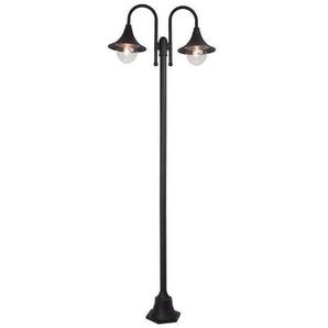 Lampadaire extérieur BERNA noir 1x60W - BRILLIANT