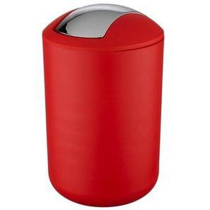 Wenko Tropic Poubelle 31x19.5x19.5cm matière synthétique rouge 21217100
