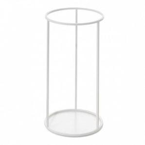 Schönbuch Rack - Porte-Parapluie/Table d'appoint Ø30cm - blanc/H 59cm / Ø 30cm