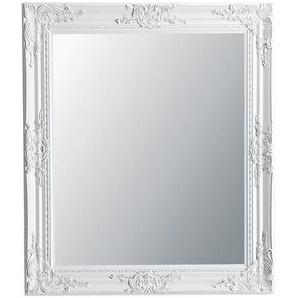 Miroir en paulownia blanc 64x74