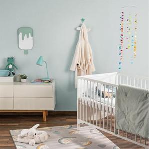 Tapis enfant Juno Gris 160x230 cm - Tapis pour chambre denfants/bébé