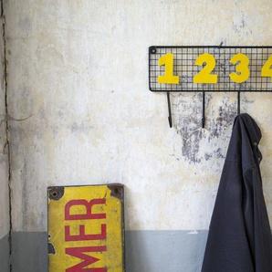 Porte manteau industriel des 4 colocataires