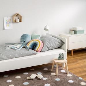 Tapis lavables pour enfants Bambini Dots Bleu 150x225 cm - Tapis lavable pour chambre denfants/bébé