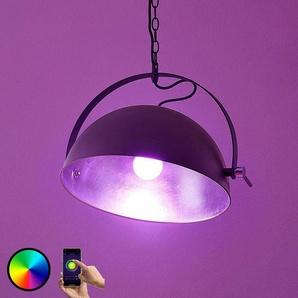Lindby Smart suspension LED Muriel, argent