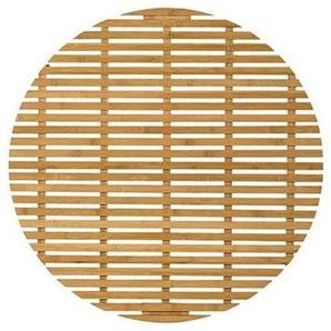Bloomingville Bamboo - Natte de bain - Fin de série - naturel/Ø 80cm