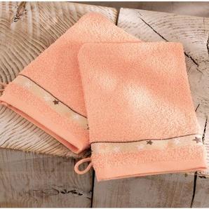 2 gants de toilette Forêt enchantée