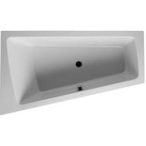 Baignoire Duravit Paiova 1700 x 1000 mm - avec pieds - Acrylique Blanc