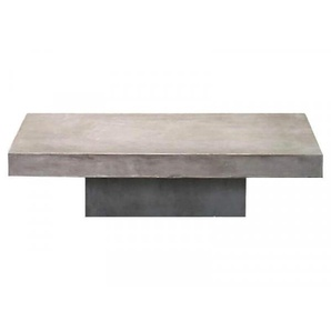 Table basse béton massif rectangle