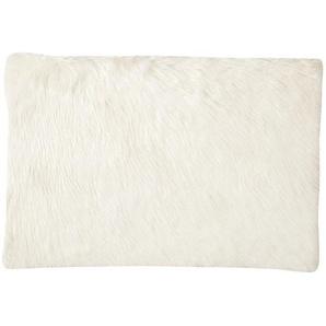 Tapis imitation fourrure blanche 80x120