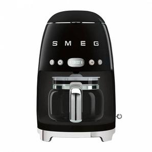 Smeg Machine à café DCF02 - noir/laqué/LxHxP 25,6x36,1x24,5cm/pour 10 tasses