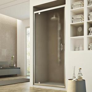 Porte Douche 75CM H185 granité C modèle Sintesi 1 Portillon - IDRALITE