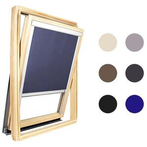 Store occultant bleu pour Velux ® - Taille UK04 - Pour les cadres gris - AVOSDIM