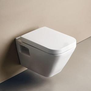 WC suspendu Diagonal DG10 + abattant SoftClose (DG10) - SEREL