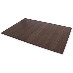 Tapis en bambou brun foncé 180cm x 270cm - DéCOSHOP26