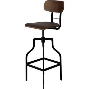 Chaise de bar Retro bois 66/85 cm - RENDEZ VOUS DéCO