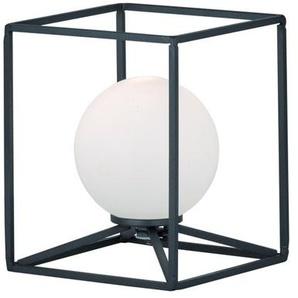 Lampe carré en métal Gabbia