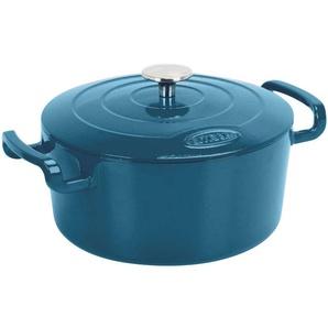 Cocotte ronde 5L SITRABELLA coloris bleu