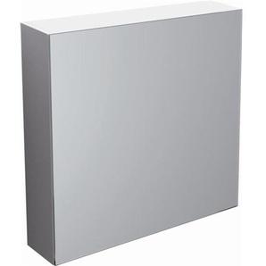 Clou Match Me Armoire de toilette avec miroir 70x68x16.7cm avec porte convertible droite et gauche Blanc CL/07.56.301.65