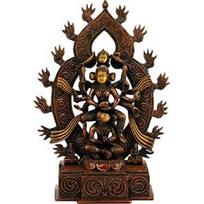 Exotic India Kamakhya Devi, Double Chola, Taille: 22,9x 8,9x 31,8cm