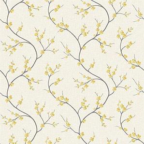 Superfresco Easy Papier Peint Intissé Solace Jaune 10 m x 53 cm
