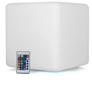 Cube LED Lumineuse Multicolore 16 couleurs 40CM - EUROPALAMP