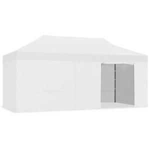 Tente pliante 3x6m impermeable pliage facile couleur Blanc Gazebo -McHaus - KEWAYES