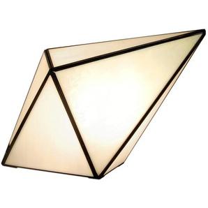 Lampe de chevet avec paralume en verre s cm H25xL35xS13 Artedalmondo TT04001
