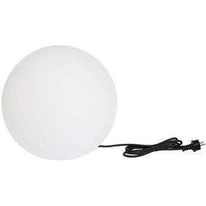 boule lumineuse blanche dextérieur d.60cm - bobby w60 - lumisky