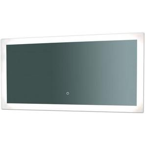 Miroir de salle de bains avec éclairage LED - Modèle Touch 120 - 60 cm x 120 cm (HxL) - PRADEL