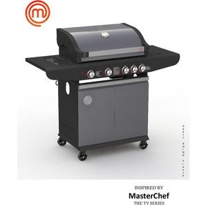 Barbecue à gaz 4 brûleurs - MASTERCHEF