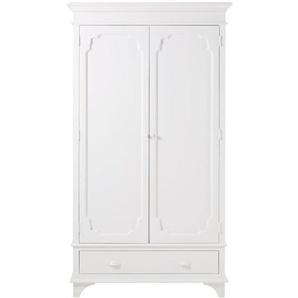 Dressing 2 portes blanc cassé Idylle