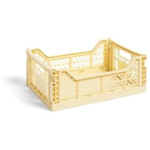 HAY Panier Colour Crate S  - jaune clair - M