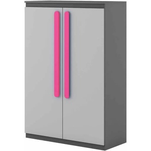 Petite armoire double Play - Rose