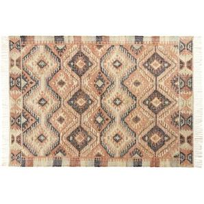 Tapis kilim en laine multicolore 140x200