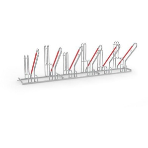Support dappui pour cycles - modèle 4500 XBF, simple face, 6 emplacements - WSM