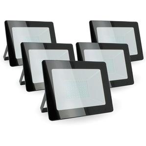 Lot de 5 projecteurs 50W IP65 extérieur | Température de Couleur: Blanc froid 6400K - ECLAIRAGE DESIGN