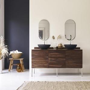 Meuble Salle de bain en bois de palissandre 155 Nova