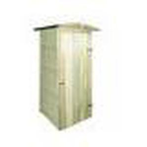 Abri de stockage pour jardin Pin Impregne FSC 100x100x210 cm - ASUPERMALL