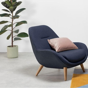 Karmello, fauteuil, bleu cobalt