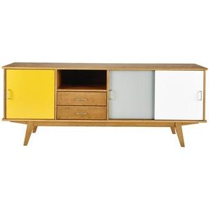 Buffet enfilade vintage 3 portes 2 tiroirs Paulette