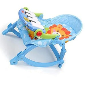 WY-Tong chaise bebe Fauteuil à bascule bébé, multifonctions bébé de chaise vibrante électrique pliable swing berceau bébé siège